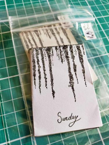 Sunday Sans Day Mini-Zine